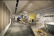 Concept Store esagono /  Esagono Concept store tile bathroom interior design www.esagonosrl.it