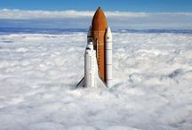 Space, Flying and Flight / My love for space, flying, and flight, and flying machines that make flight possible.