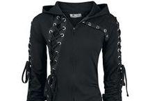 dark clothing - inspiration