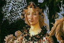 Sandro Botticelli / (Wczesny Renesans quattrocento, wlochy)