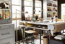 Home office / Bureau / Un bureau atelier à la maison