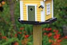 Ideas for fall door ornament / birdhouse ideas for fall