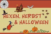 Herbst & Halloween / Inspirationen zur Herbst- und Halloweenzeit + kostenlose Kopiervorlagen