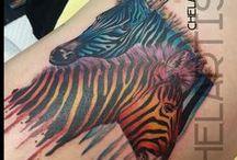 Tattoos by Chel / Tattoos by Chel King. www.chel.com.au Instagram: @chelartist FB: cheltattooartist