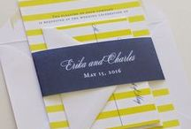 Wedding Invitations / Classic and timeless wedding invitations created by Blush Paperie.