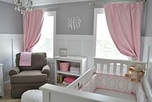 Nursery Room Ideas / Need ideas for the baby room? Vinyl comes in so many fun colors. We have thousands of images to help get that nursery looking cutesy.