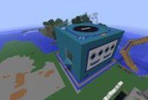 Minecraft / Quelques unes de mes constructions à minecraft.