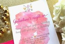 Party Invitations & Announcements / Christmas, new years, valentine's, all celebration & party invitations. Shower invitations and birth announcements.