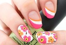 Marimekko Nail Art / Marimekko has a variety of colorful patterns and prints that will look great as nail art! Get inspired by this board and try it for yourself!
