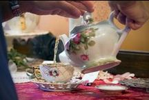 Victorian High Tea / Come sip 7 kinds of teas, as well as eat lunch with savories, scones and sweets. A bit of entertainment and a tour of the mansion. Reservations are a must - $32.00 per person (Tax included - NOT Tip).