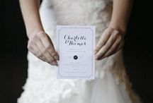 CUSTOM WEDDING INVITATIONS / Little Paper Store offer custom design and made-to-measure paper goods.