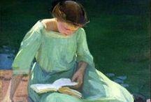 Lectoras en el arte