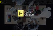 Design | Web / A collective of both our work and inspirational web design. Landing pages, Microsites, and Full sites.