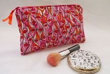 Zipped Purses / Handmade zipped purses by Tickled Pink Patches