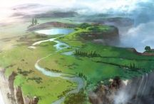 Scenic ART / Beautiful Landscapes by artist