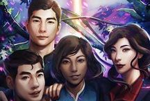 The NEW Team AVATAR / Korra, Asami, Bolin and Mako! Not to forget all the rest that gave you the feeels :D