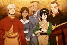 Team AVATAR / Aang, Katara, Zuko, Sokka and Toph! And everyone in between :D
