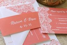 Coral Weddings / Coral wedding inspiration and details for your big day!