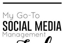 Social Media / Tips, tricks, and resources for social media management and sm marketing.