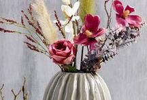 Silk flowers & plants / So many ways to decorate your #casavivante with #silk flowers & plants