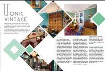 Magazine template /layout