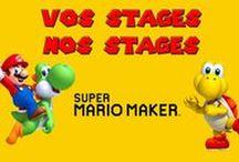 Super Mario Maker / Retrouvez ici mes stages sur Super Mario Maker. Merci de mettre une étoile et bon jeu à tous.