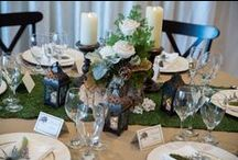 Rustic Wedding Decor / Choose from one of our stylized decor packages to make your wedding reception everything you have dreamed of!