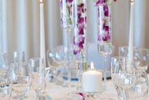 Modern Wedding Decor / Choose from one of our stylized decor packages to make your wedding reception everything you have dreamed of!