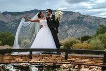 Real Wedding- Corinna and Justin / Event Center at Sandia Golf Club