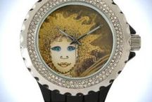 Watches by Carola Rost / Various watches with Face Designs by Carola Rost