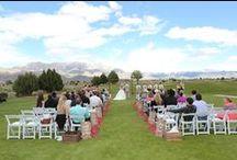 Real Wedding- Jeanne and Ronnie / Sandia Golf Club