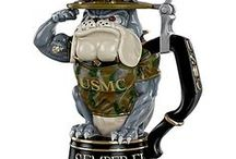 U.S.M.C. and U.S. Navy / USMC Semper Fi and U. S. Navy Collectibles, Jewelry & Apparel