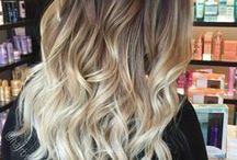Balayage Hair / balayage hair, balyage hair, blonde balyage, brown balyage, caramel highlights, highlighted hair, natural highlights
