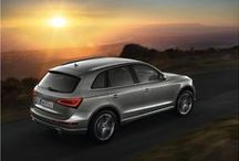 Audi Q5 / The Audi Q5 is seen as much by the naked eye as it is through the camera lens. No wonder then, that the Q5 is the preferred mode of transportation for the nation's glitterati. Sensual, yet practical, it is more than just a vehicle, it is a lifestyle. Designed and engineered to deliver not only performance but also an experience akin to stardom. It turns heads. Just like the people who drive it.