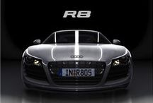 Audi R8 / The time has come for the Audi R8 – a sports car with an unmistakable design and the genes of a winner.