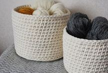 {Sewing & Knitting} / Inspiration for knitting an sewing projects / by Therese von Hackwitz