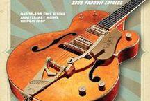 Guitars & Guitarists / A selection of very nice guitars & guitar players I like.