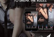 Tied: Book One, The Reign Series / Where it all begins... Caleb and Reagan. <3