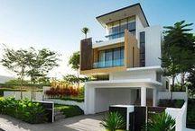 Maison / Architectures extérieures