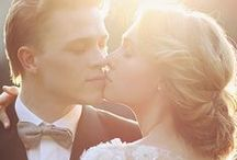 Wedding | Couple Portraits with Candles & Sunset Light