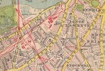 Old maps / For many years we've been collecting a library of old UK town and city maps. These 50+ year old maps enabled us to create royalty free mapping which, along with street checks, aerial photography etc, negated the need for our clients to pay royalties and licence fees to the Ordnance Survey. This all changed in April 2010 however when much O.S. data was made free to use. Find out more about our maps on our website   http://www.pcgraphics.uk.com or on our blog   http://www.pcgraphics.uk.com/blog