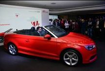 Audi A3 Cabriolet Launch / The newest and the hottest offering of #Audi, the #A3Cabriolet is finally at #AudiDelhiCentral to spread love in the air and to make you fall in love all over again.