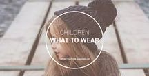 What to Wear: Children / Style ideas and tips for children fashion.  OPEN FOR COLLABORATION. RULES - Images must be vertical, no spam with 3-5 pins per day max, no portfolio pins, infographics pins, or quote pins. Must link to valuable content that is your personal work, have descriptive titles in the pin. Pins must be relevant to DIY. Duplicate or off topic pins are removed.   EMAIL beyondthewanderlust@gmail.com FOR BOARD INVITE.   Please have email topic as: ATTN - KID COLLAB BOARD INVITE.