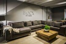 Bocx interiors Banken / Collectie Bocx Interiors Banken, elk model is verkrijgbaar in elke gewenste opstelling.
