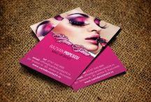 Carti de vizita Beauty / Carti de vizita pentru make-up artist, hairstylist, manichiurista, maseur, tattoo artist
