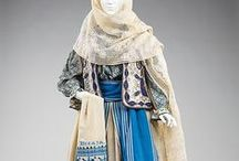 Historic Textiles and Garments / Pieces of history shown through traditional garments and intricate textiles.