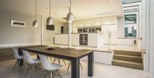 Kitchens in OB Projects / Kitchens in projects by OB Architecture, Winchester, Hampshire