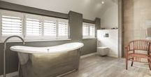 Bathrooms in OB Projects / Bathrooms in projects by OB Architecture, Winchester, Hampshire.