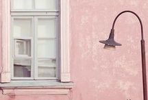 """Color Trend: Pastel Pink with MYCS / Since Pantone chose """"Rose Quartz"""" and """"Pale Dogwood"""" as trend colors there is no way around the light pink tones in fashion and interior."""