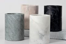 """Material trend: Marble with MYCS / White Carrara marble, green Guatemala marble, brown Emperador marble and black Marquina marble - the material found its way back into the interior scene and is now more popular than ever. Discover the variety of marble with MYCS!   You will find more information about the material trend """"marble"""" in our MAGAZYNE:  https://de.mycs.com/blog/trendmaterial-marmor/"""